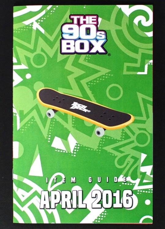 April 2016 The 90's Box