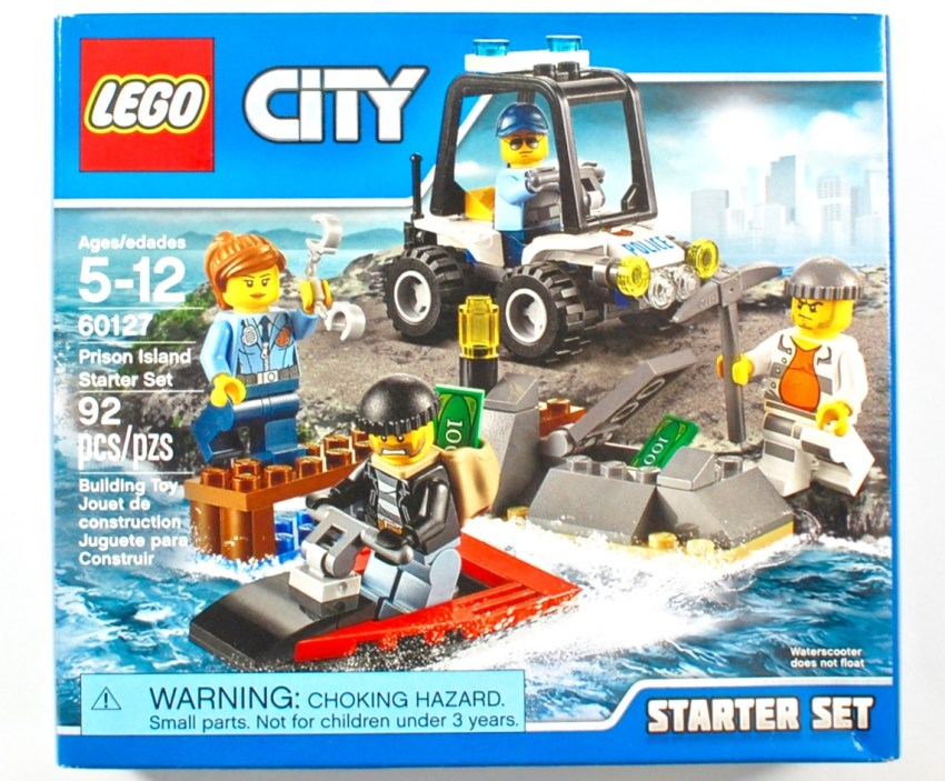 Lego prison island set