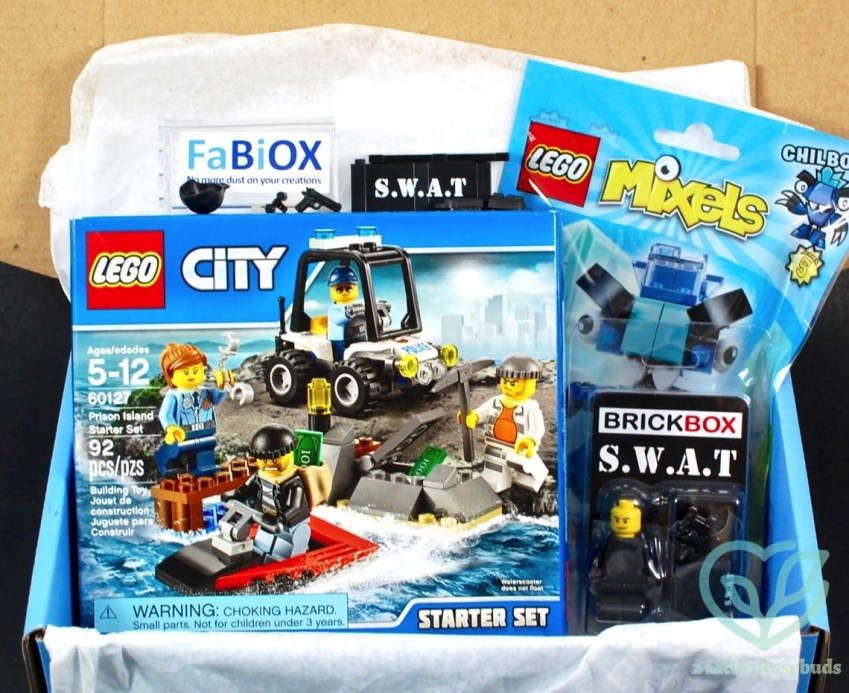 "BRICKBOX ""S.W.A.T."" Brick/Lego Subscription Box Review"