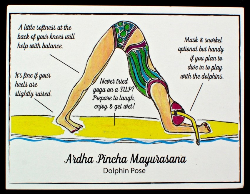 yoga pose card