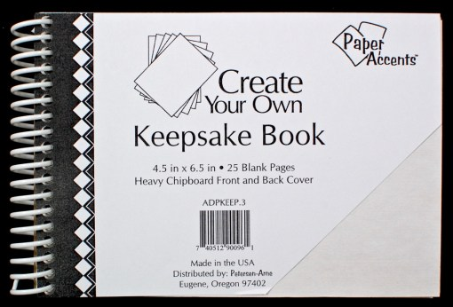 keepsake book diy