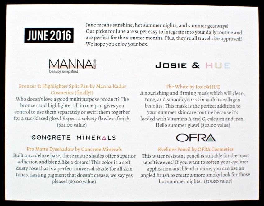 June 2016 LaRitzy review