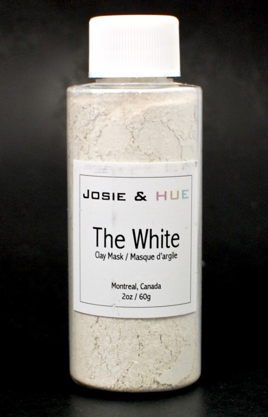 Josie & Hue white mask