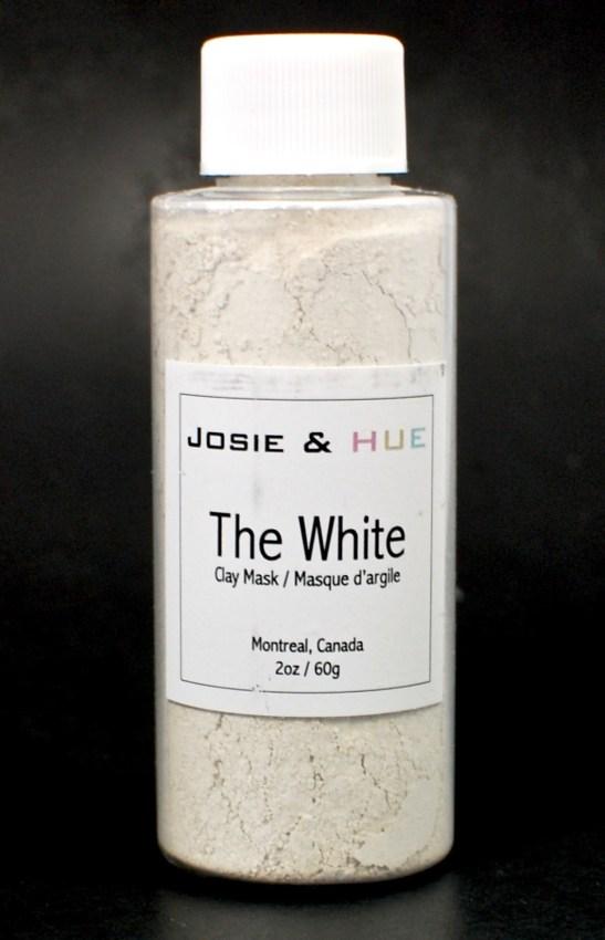 Josie & Hue white mask