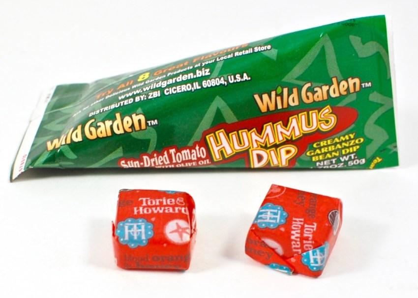 wild garden hummus dip