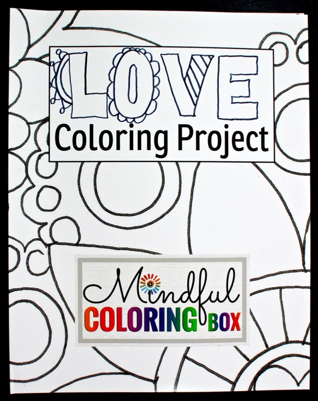 Love Coloring Project