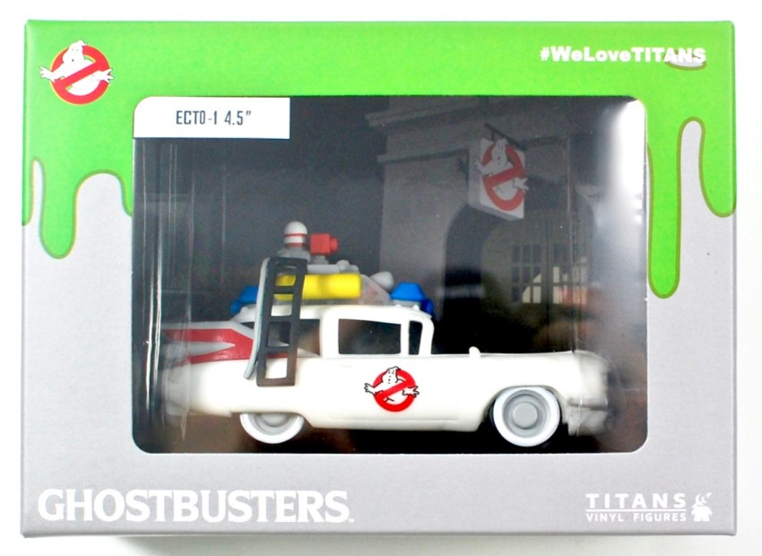 Ghostbusters Ecto 1 figure