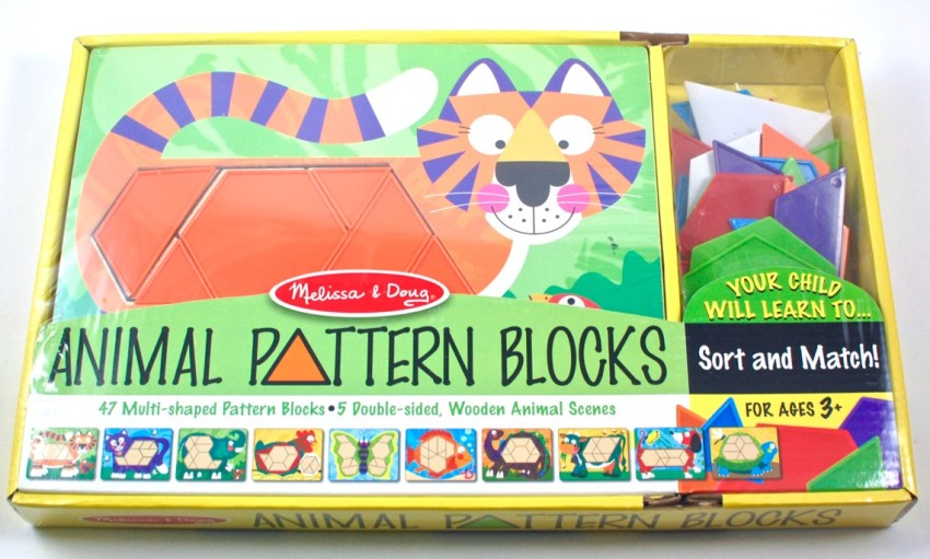 Melissa Doug pattern blocks