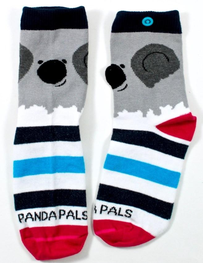 panda pals koala socks