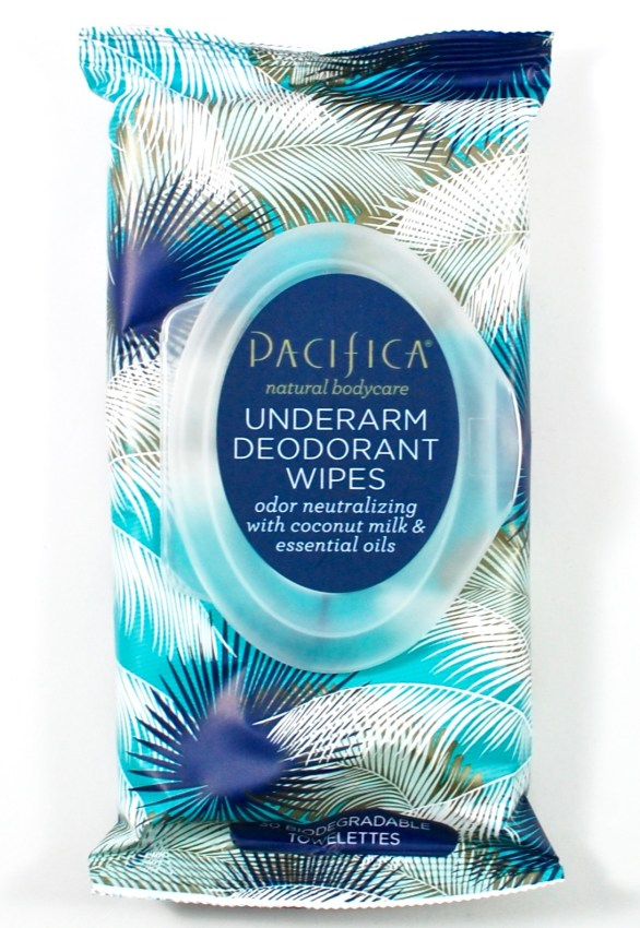 Pacifica deodorant wipes