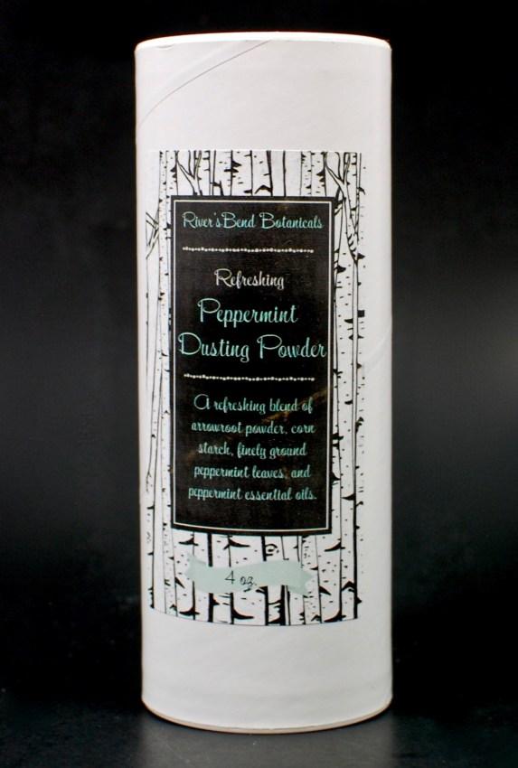peppermint dusting powder