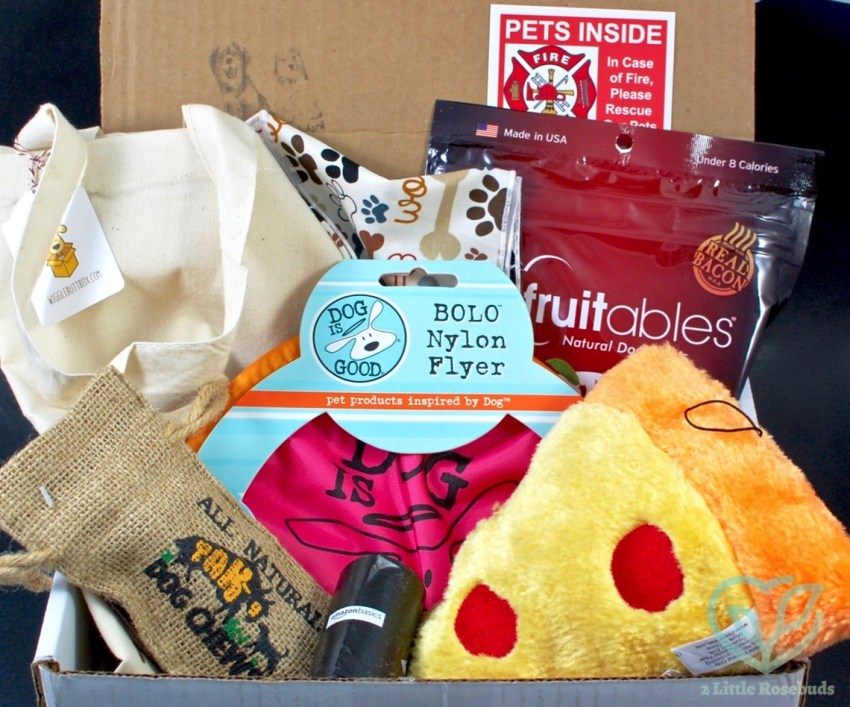 Wigglebutt Box May 2016 Dog Subscription Box Review & Coupon