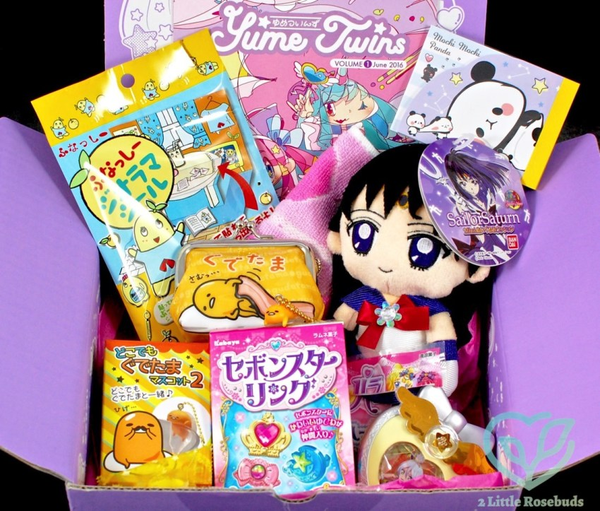 YumeTwins June 2016 Japanese Subscription Box Review & Coupon Code