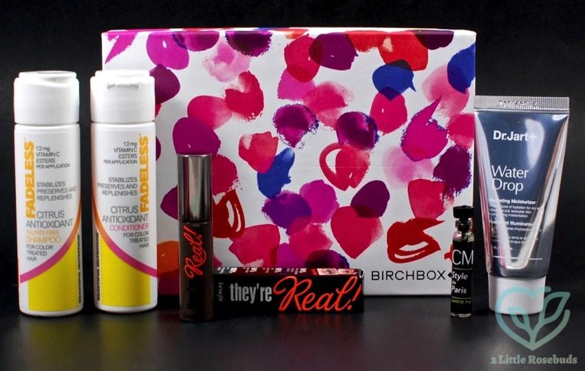 July 2016 Birchbox review
