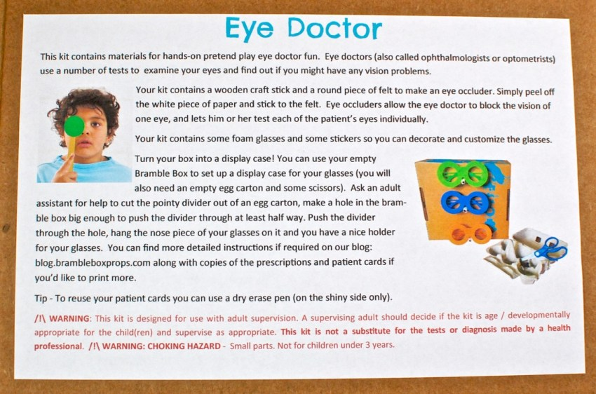 Eye Doctor Bramble Box