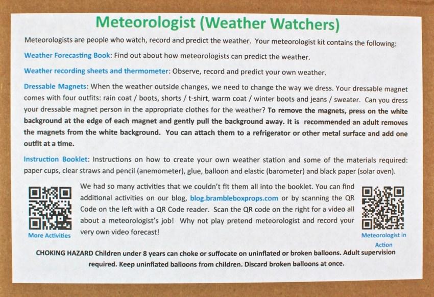 Bramble Box meteorologist