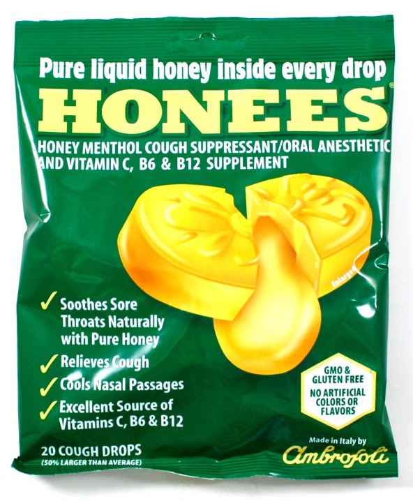 honees cough drops