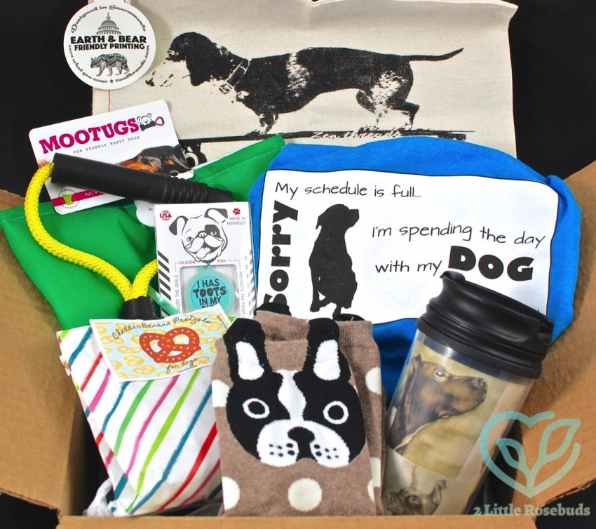DogPeopleBox July 2016 Dog Subscription Review & Coupon