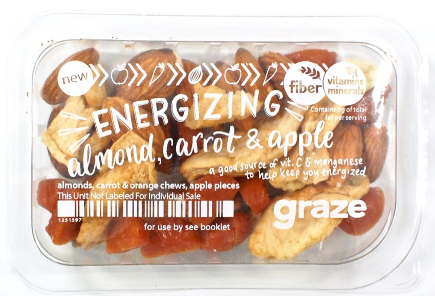 energizing almond carrot & apple