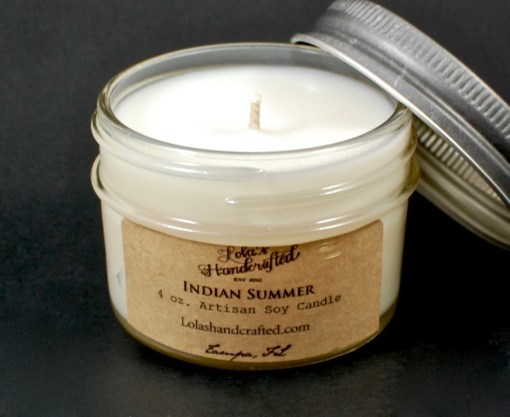Lola's Handcrafted candle