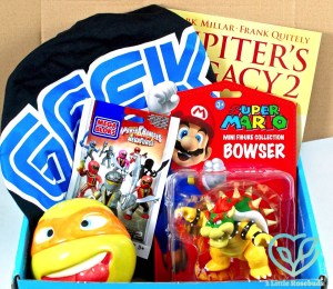 July 2016 My Geek Box review