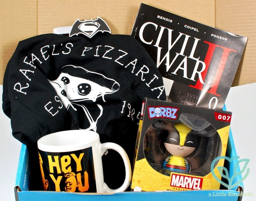 My Geek Box June 2016 Subscription Box Review