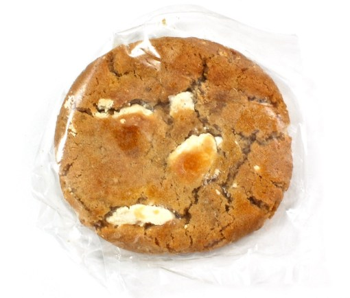 salted caramel cream cookie