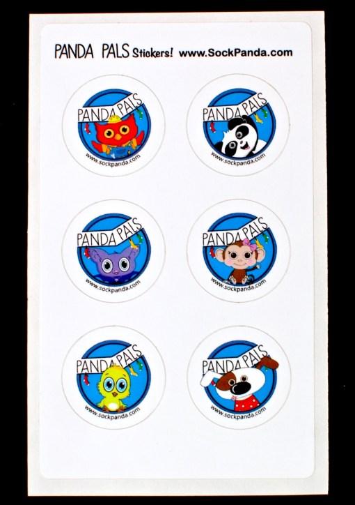Panda Pals stickers