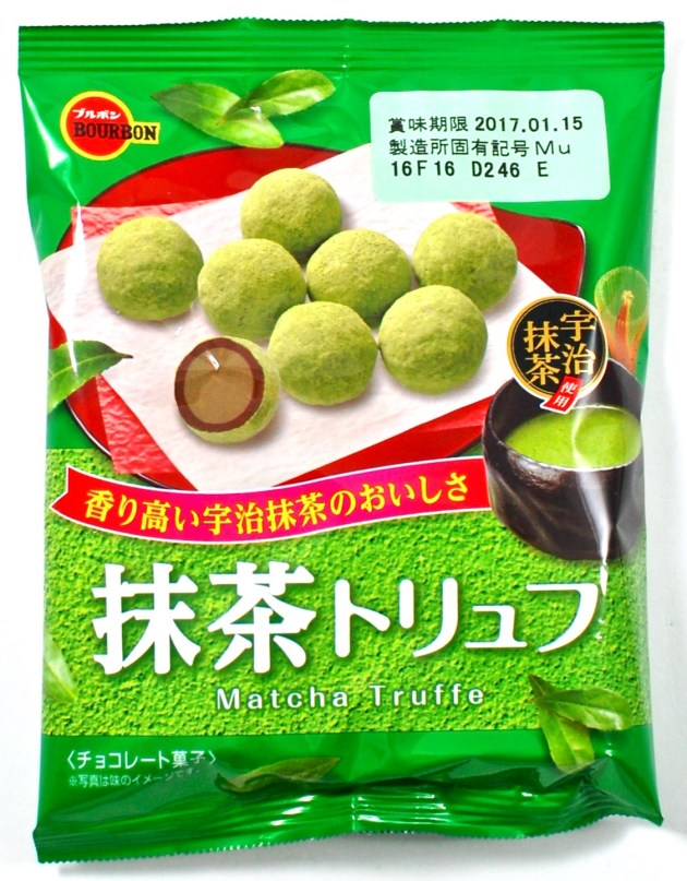 matcha truffle chocolates