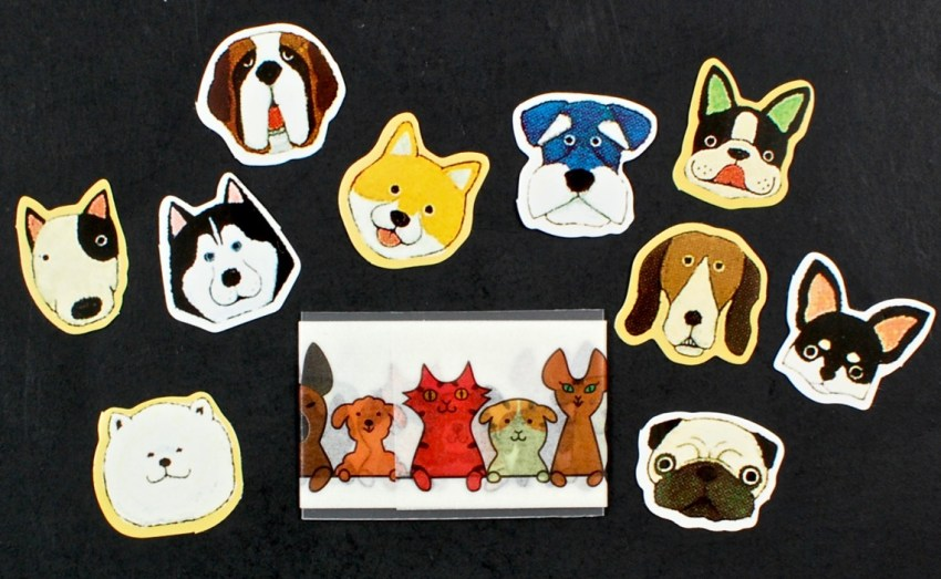 dog washi tape
