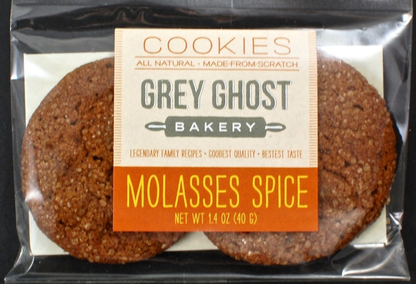 Grey Ghost Molasses spice