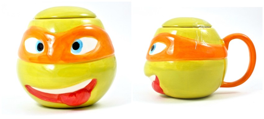 TMNT ceramic mug
