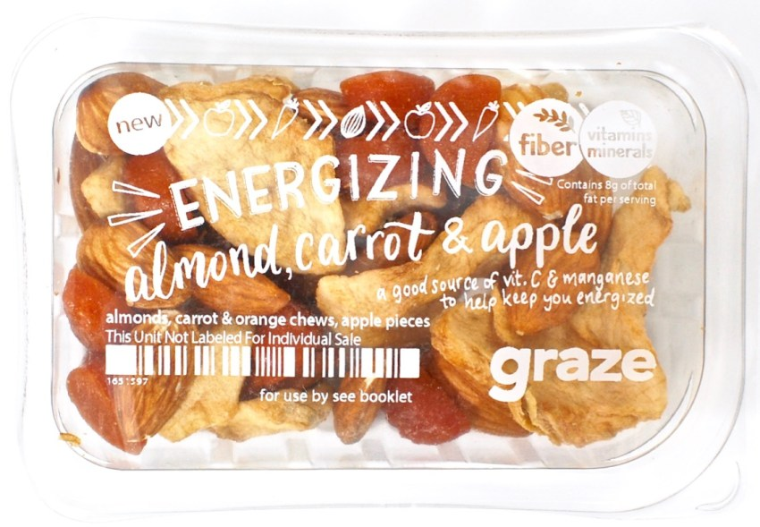 graze vegan box
