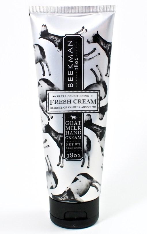 Beekman 1802 hand cream