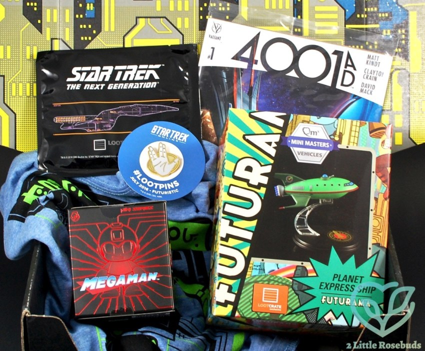 "Loot Crate July 2016 ""Futuristic"" Review & Coupon Code"