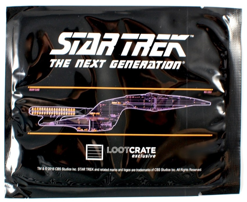Star Trek Dedication Plaque decal