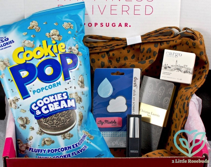 POPSUGAR Must Have August 2016 Subscription Box Review & Coupon