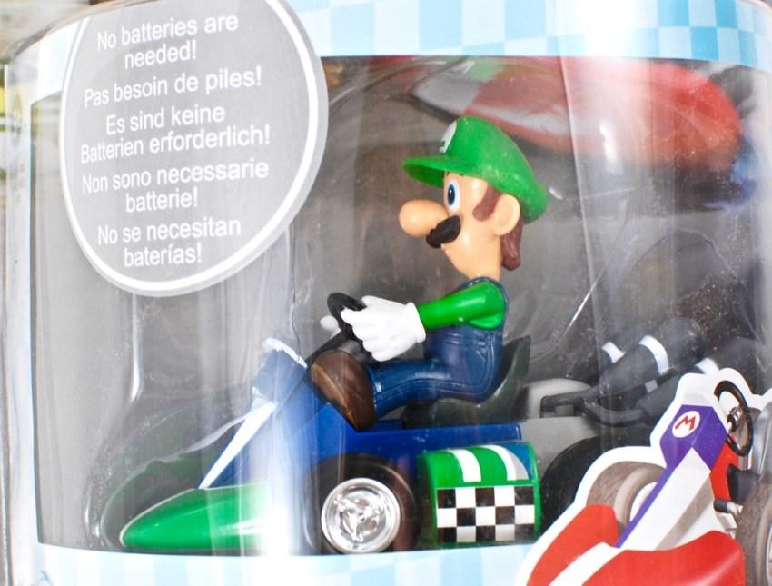 Luigi pull back racer