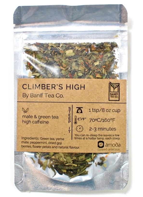 Climber's High tea
