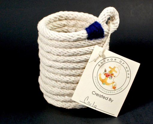 rope pencil holder