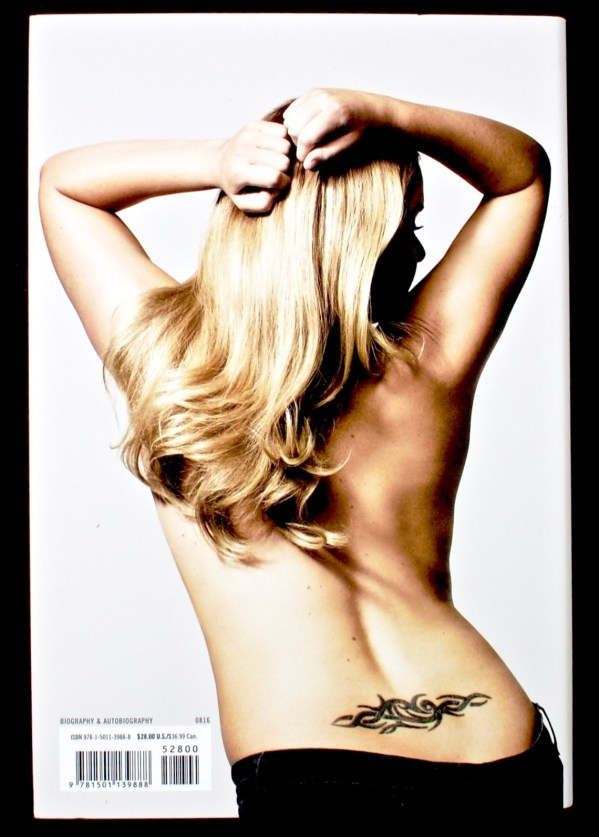 Girl with the Lower Back Tattoo