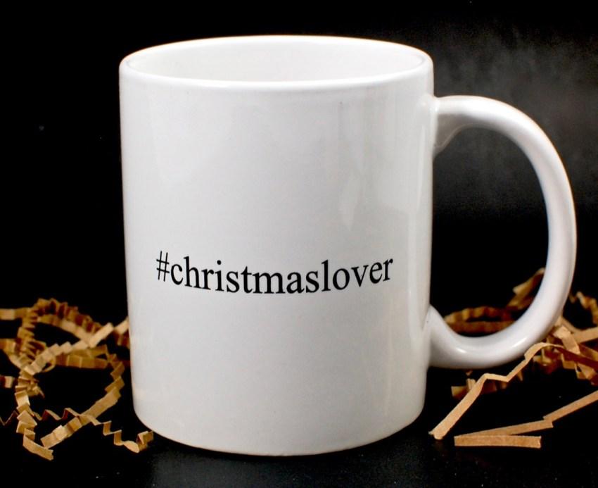 #christmaslover mug