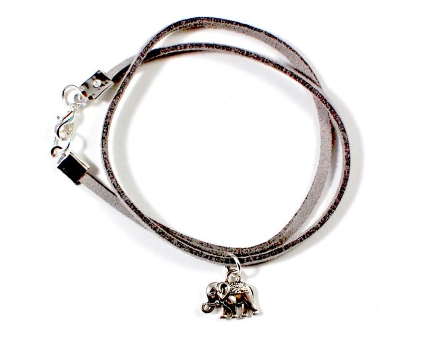 Simple Suede Elle bracelet
