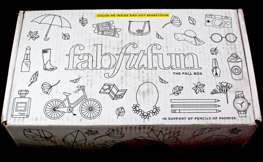 Fall 2016 FabFitFun box