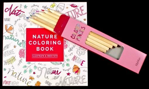 FabFitFun coloring book