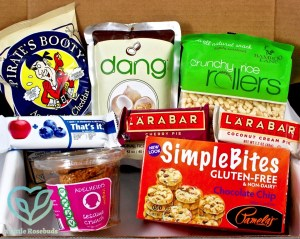 Healthy Belly Box September 2016 Subscription Box Review