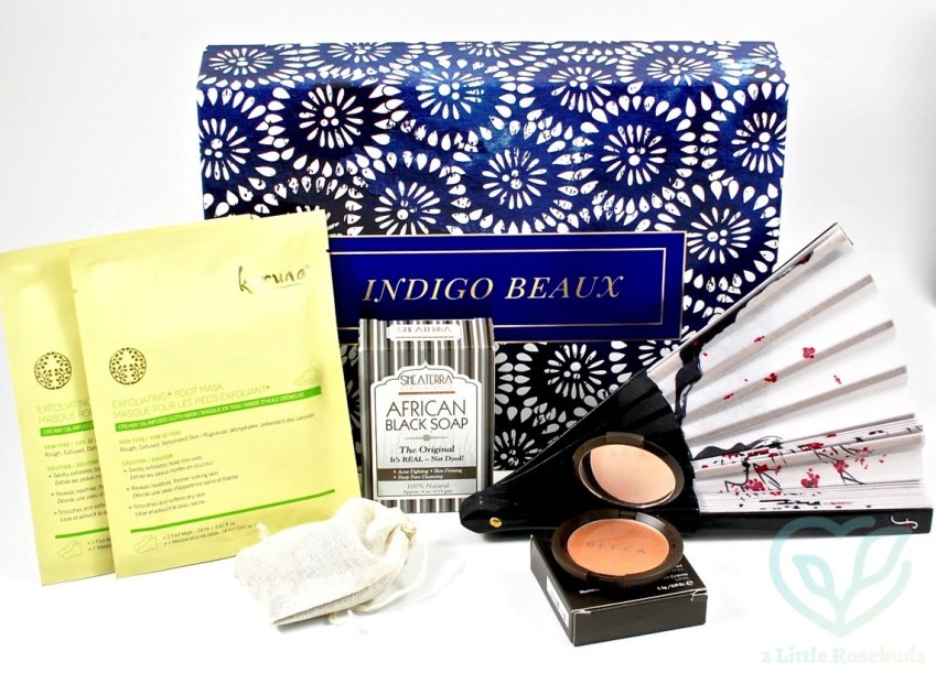 Indigo Beaux August 2016 Luxury Beauty Box Review