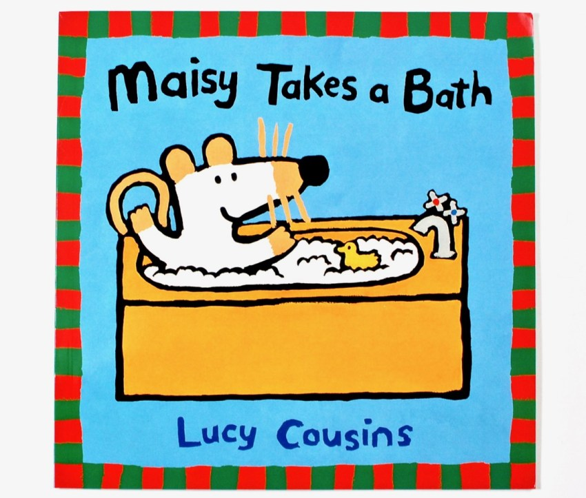Maisy takes a Bath book