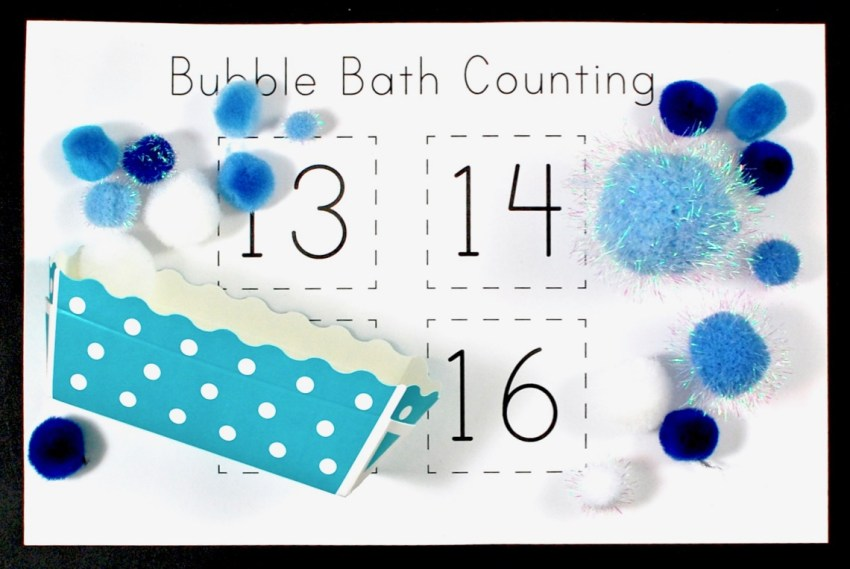 bubble bath counting