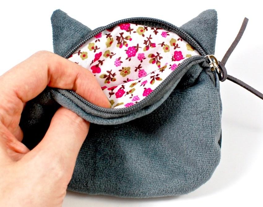 grumpy cat coin purse